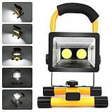 Ручной переносной прожектор W902-COB, фото 4