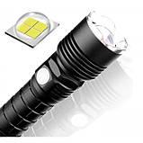 Мощнейший ручной аккумуляторный фонарь BL-515-P50 фонарик 1500 Lumen, фото 2