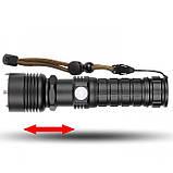 Мощнейший ручной аккумуляторный фонарь BL-515-P50 фонарик 1500 Lumen, фото 3