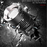 Мощнейший ручной аккумуляторный фонарь BL-515-P50 фонарик 1500 Lumen, фото 5