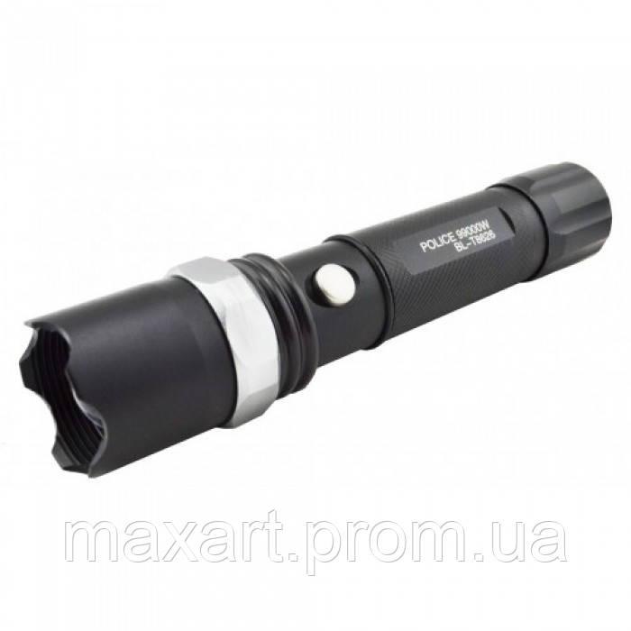 Тактический фонарь POLICE BL 8626 Q5 99000W фонарик 500 Lumen СИНИЙ ЛУЧЬ