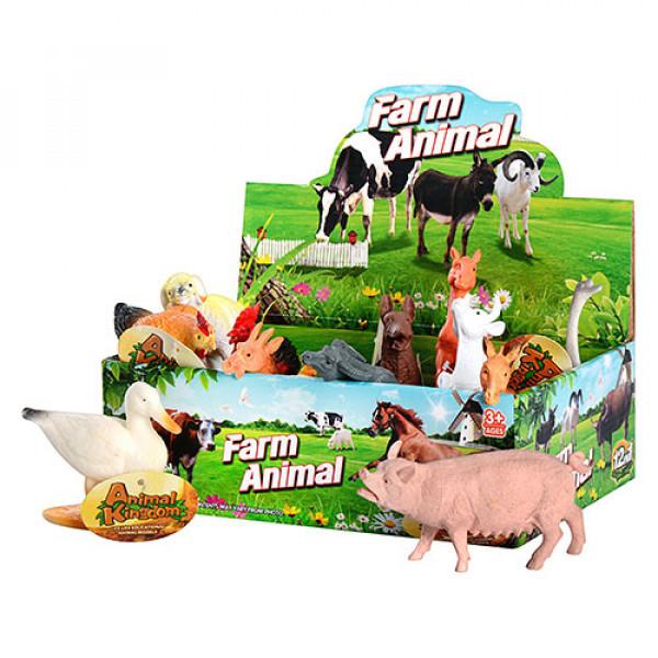 Животные домашние  пластик арт  588-2 домашние, 12 см