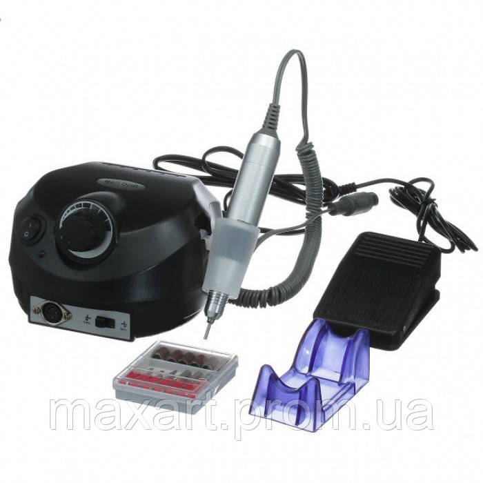Фрезер для маникюра и педикюра Nail Drill DM-202 35000 оборотов 30 Вт Чёрный