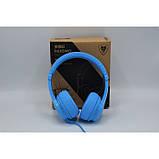 Наушники NUBWO N8 со встроенным микрофоном Синие, фото 3