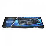 Игровая проводная русская клавиатура M200 с подсветкой USB, фото 5