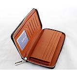 Мужской кошелек клатч портмоне барсетка Baellerry SW009 Коричневый, фото 2