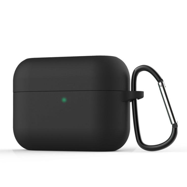 Силиконовый чехол для наушников Honor Earbuds X1 | чехол + карабин | черный