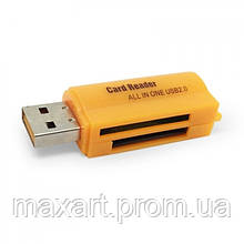 Картридер 32 в 1 XD8 Card Reader 480 мбит/с