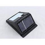 Светодиодный Навесной фонарь с датчиком движения 609 + solar 20 диодов, фото 3
