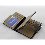 Мужской кошелек клатч портмоне Baellerry D1282 business Чёрный, фото 2