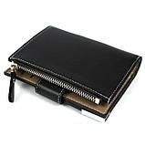 Мужской кошелек клатч портмоне Baellerry D1282 business Чёрный, фото 3