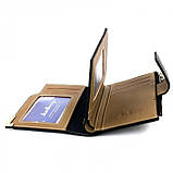 Мужской кошелек клатч портмоне Baellerry D1282 business Чёрный, фото 4