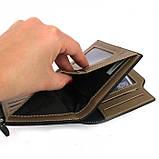 Мужской кошелек клатч портмоне Baellerry D1282 business Чёрный, фото 5