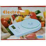 Кухонные Электронные Весы SСА 301 5 кг + батарейки Зеленый, фото 2