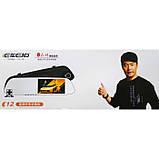 Зеркало видеорегистратор C12 IPS Экран, Full HD, 2 камеры, антиблик, фото 3