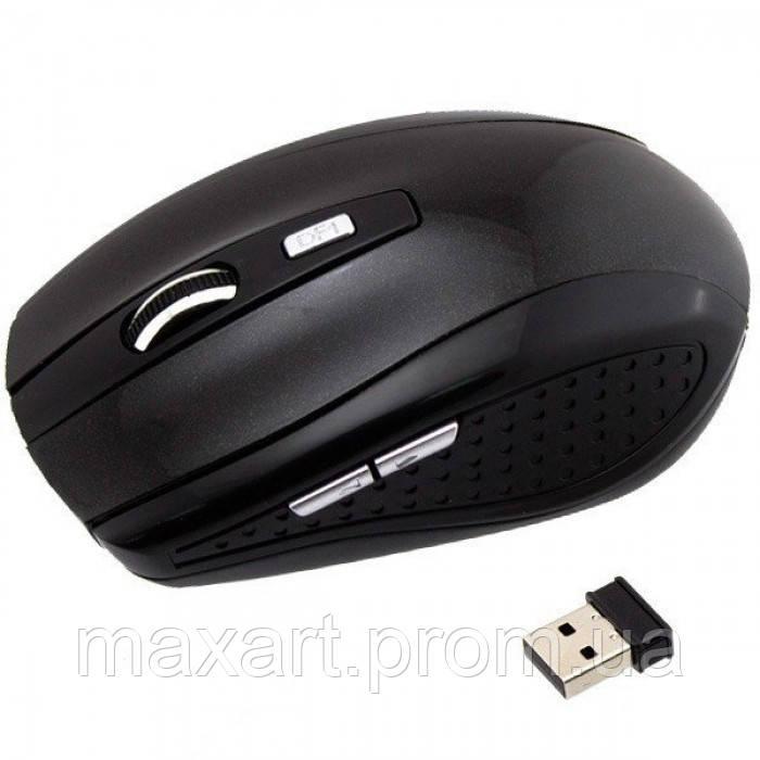 Беспроводная компьютерная оптическая мышка G-109 мышь Чёрная