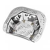 УФ лампа для ногтей Beauty nail 18K CCFL LED 48W сушилка сенсор Белый, фото 4