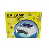 УФ лампа для ногтей Beauty nail 18K CCFL LED 48W сушилка сенсор Белый, фото 5