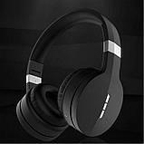 Беспроводные Bluetooth Стерео наушники Gorsun GS-E88A Micro SD Чёрные с серым, фото 3