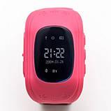 Умные Smart часы для детей с GPS трекером Baby Watch Q50 Розовые, фото 2