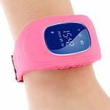 Умные Smart часы для детей с GPS трекером Baby Watch Q50 Розовые, фото 3