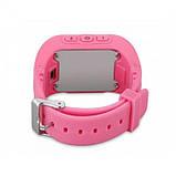 Умные Smart часы для детей с GPS трекером Baby Watch Q50 Розовые, фото 4