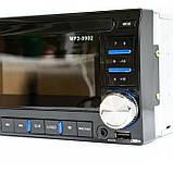 Автомагнитола MP3 USB AUX FM 9902 2DIN, фото 3