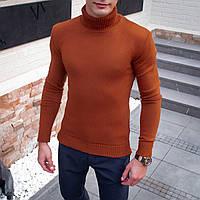 Мужской свитер Axelrod (теракотовый)