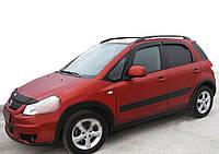 Suzuki SX4 2006-2013 гг. Ветровики HB (4 шт, SIM)
