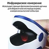 Портативный пульсометр оксиметр на палец Pulse Oximeter LK87, фото 3