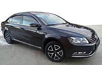 Volkswagen Passat B7 2012-2015 гг. Ветровики SD (4 шт, SIM)