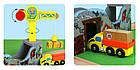 Железная деревянная дорога детская, EdWone, 70 деталей, 3+ (Brio, Ikea) E16A09, фото 8