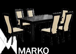Обеденный комплект: стол Классик и стулья Марек 1 Марко™