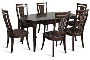 Обеденный комплект: Стол Маркиз 160х92+44 + стулья Маркиз Марко™