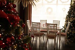 Обеденный комплект: Маркиз 160х92+44 + стулья Маркиз-2 Марко™