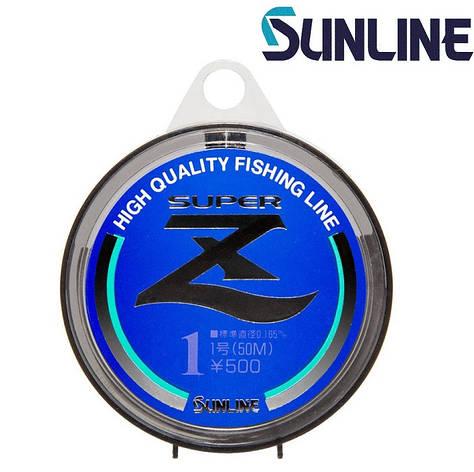 Леска монофильная Sunline Super Z HG размотка 50м прозрачная, фото 2