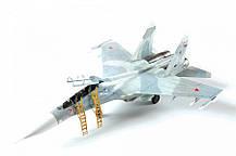 Учебно-боевой самолёт Су-27УБ. Сборная модель в масштабе 1/72. ZVEZDA 7294, фото 2
