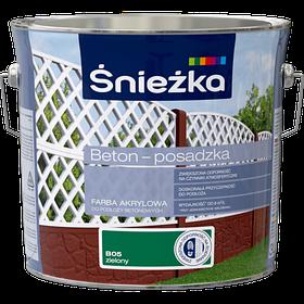 Краска для бетона акриловая BETON-POSADZKA ЗЕЛЕНЫЙ В05 3л PL