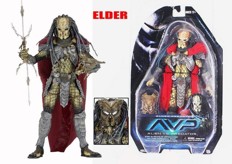 Хижак Predator Grand-Elder (AVP серія) !Раритет!