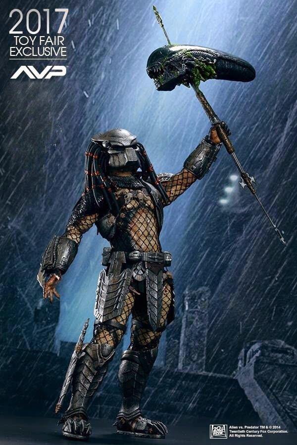 Хищник Predator-Temple (AVP серия)!Раритет!