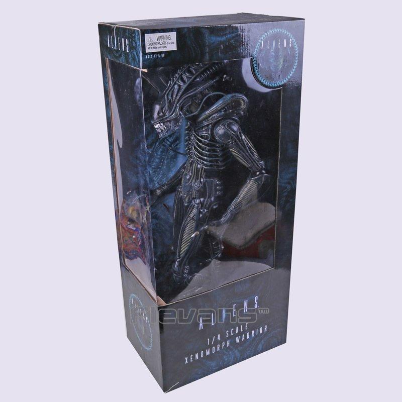 Чужой (Alien-Warrior) 58 см! Мега размер.