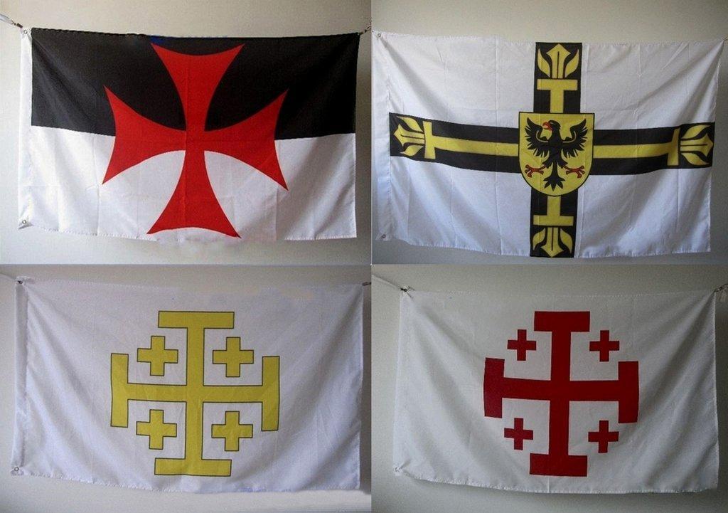 Флаги Рыцарских орденов