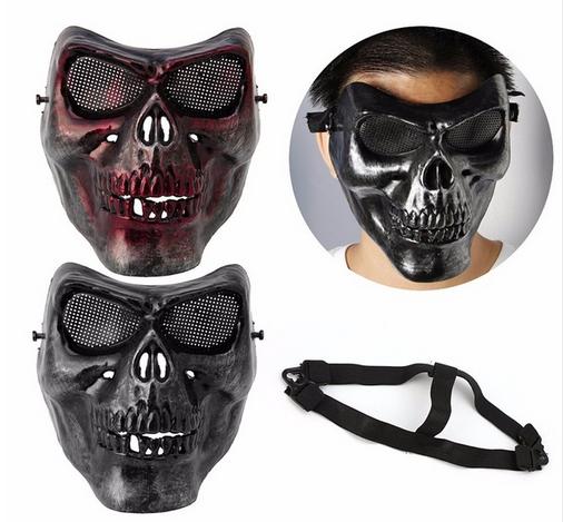Защитная маска Полу-Череп с глазницами