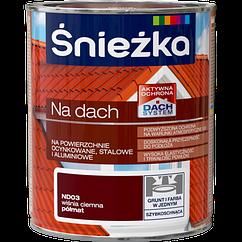 Краска Sniezka NA DACH вишневый темно (полуматовый) ND03 0.75  PL