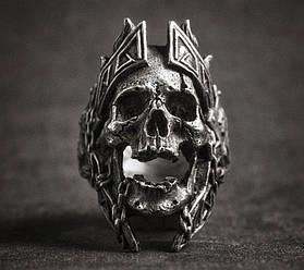 Перстень Бог Арес (сталь)
