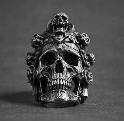 Перстень Богиня Санта Муэрте (сталь)