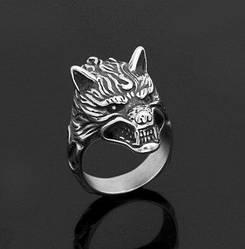 Перстень Волк (сталь)