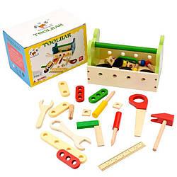 Дерев'яний игравой набір дитячих інструментів