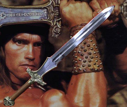 Меч Конана Варвара (Conan the Barbarian)