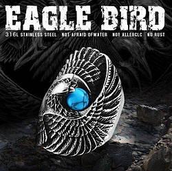 Перстень Орел з каменем